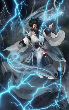 Character from Renegade Immortal (Xian Ni)