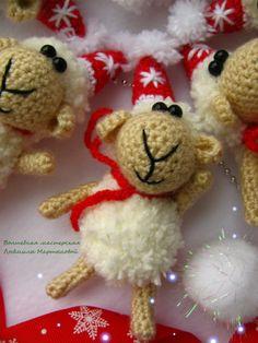 Волшебная мастерская: Маленькая овечка -МК