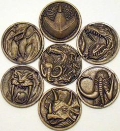 The Mighty Morphin Power Rangers Power Coins