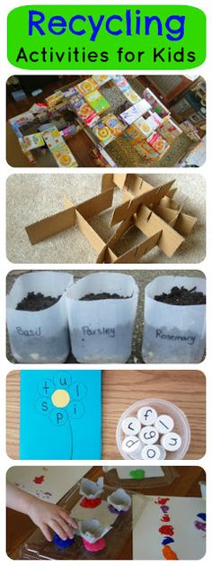 Recycling Activities for Kids and Mom's Library #41 | True Aim Education & Parenting