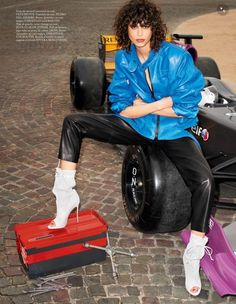 awesome Mica Arganaraz sports high street style for Vogue Paris June 2015 by Terry Richardson [Fashion]