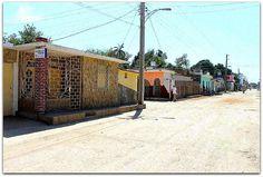 Vista de la calle y la casa. Cuba, Patio Interior, Prado, Trinidad, Street View, Street, Cities