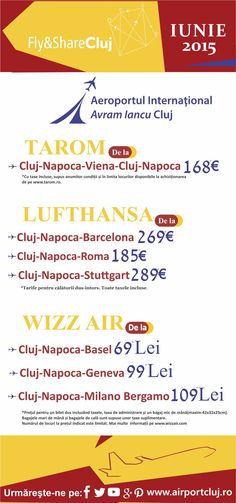 De pe Aeroportul Internațional Avram Iancu Cluj puteți zbura către #Basel , Elveția, cu #WizzAir . Puteți găsi bilete începând de la 69 lei! Aflați mai multe pe : https://wizzair.com/ro-RO/FlightSearch Mai multe informații despre orarul zborurilor, companii aeriene și alte destinații, vă rugăm accesați : http://airportcluj.ro/