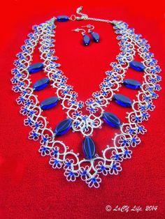 25 Motif Challenge: TIAS, Flowers, Doilies, Giraffe, Necklaces, Bracelet, Motifs, Heart, Earrings, Bookmarks and Suncatcher