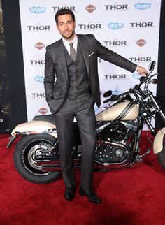 Zachary Levi at the Thor 2 premier