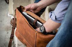 The Vintage Messenger Bag von Whipping Post - Der Typ von Nebenan