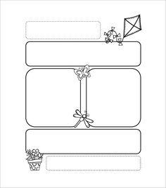 Printable Preschool Newsletter Templates  Free Word Pdf