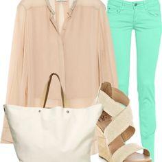 Mint jeans !!