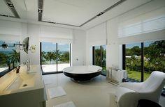 Sumptuous Villa in Thailand Displaying a Tasteful Interior Design