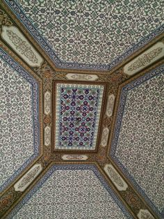 Topikapi ceilings - Istambul