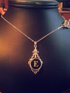 TYPEWRITER Key Necklace STERLING SILVER by TheVintageKeyByKama, $36.00