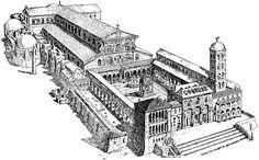 basilica vaticana antigua