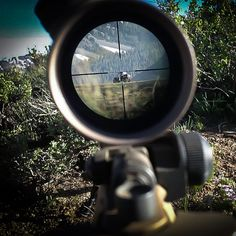 Target Acquired! In this photo, #USArmy sniper Spc. Samuel Hyer identifies a high-value target during an area reconnaissance training mission to the @Marines Mountain Warfare Center near Pickel Meadows, Calif. [Photo by Spc. Samuel Hyer] #USArmy #sniper #Hooah #ArmyStrong