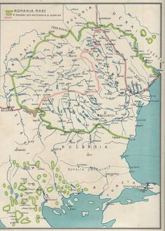 Post with 0 votes and 593 views. The Greatest Romania × History Of Romania, Old Maps, European History, Historical Maps, Geology, Planer, Vintage World Maps, Infographics, Wedding Dress