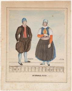 Traditional Dresses, German, Island, Costumes, Baseball Cards, Dutch, Painting, Art, Germany