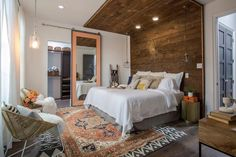 """Comfortable and current interior design by Team Drew! Catch the season finale of """"Brothers Take New Orleans"""" with Property Brothers' Drew Scott and Moss Manor's Sarah James Moss on Wednesday December 14 at 9