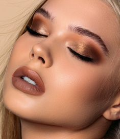 Biba Natasha Denona All Neutral Eyeshadow Palette Biba All Neutral Lidschatten-Palette - Natasha Denona Formal Makeup, Glam Makeup, Skin Makeup, Eyeshadow Makeup, Makeup Inspo, Makeup Inspiration, Makeup Tips, Beauty Makeup, Bronze Eye Makeup