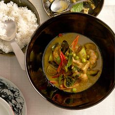 Prawn green curry recipe | Simply Good Food by Neil Perry | Recipes | Food | Red Online