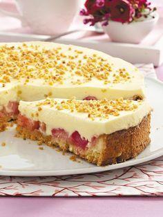 Rhabarber-Creme-Torte