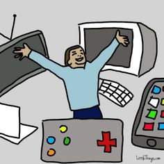 Video Games Addiction Pictures