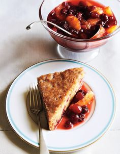 Citrus-Cranberry Compote