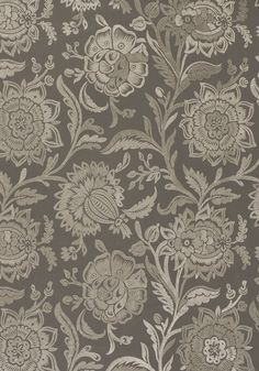 RIVERA EMBROIDERY, Grey on Grey, W713019, Collection Monterey from Thibaut