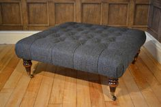 Tetrad Upholstery Harris Tweed Castlebay Stool