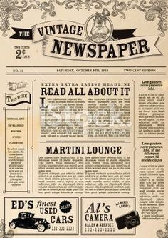 Newspaper Article Layout Template Indesign Newsletter Templates
