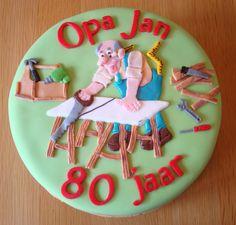 Opa Jan is 80 jaar