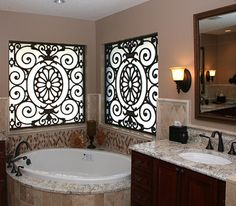 Bath faux iron Design Ideas, Pictures, Remodel and Decor