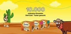 Bewirb dich jetzt und werde mit deiner Katze und mit ein bisschen Glück einer von insgesamt 10.000 Produkttestern. - https://aktionen.dreamies-snacks.de/?view=social&type=test&id=482