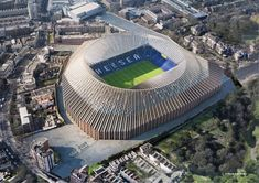 Herzog & de Meuron submits plans for Chelsea football stadium redesign