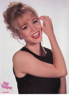 JENNIE GARTH pinup - Beautiful smile! Nice eyes! BEVERLY HILLS 90210 - ZTAMS