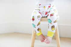 Retro Lollies SS17. Available April 2017 www.lilcubs.co.uk #babyclothes #leggings #retro #icecream