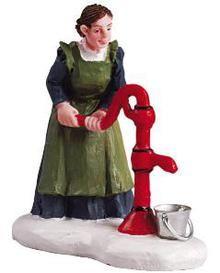 52057 - Fill 'er Up - Lemax Christmas Village Figurines