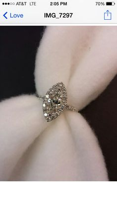 Marquise Engagement Ring :)