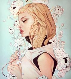 <p>It's been a long time since I've stumbled upon an illustrator who has been able to bring a bit of freshness into the illustrating world. Kelsey Beckett's illustrations of beautifu