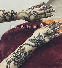 Khafif Mehndi Design, Floral Henna Designs, Henna Designs Feet, Finger Henna Designs, Mehndi Designs For Girls, Stylish Mehndi Designs, Mehndi Design Pictures, Beautiful Henna Designs, Latest Mehndi Designs