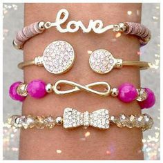 cute bracelets @Cyndi Price Haynes Green