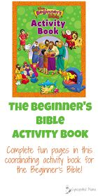 The Beginner's Bible Activity Book Do you love this Bible as much as we do? Then you'll love having the chance to complete all the fun pages in this new, coordinating activity book!