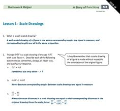 take a look at the geometry module 1 lesson 3 homework helper