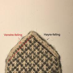 Hvordan strikke selbuvotter | Lag det selv, da vel Circle Diagram, Norwegian Knitting, Animal Alphabet, Knit Mittens, Knitting Charts, Halloween Make Up, The Row, Knit Crochet, Blog