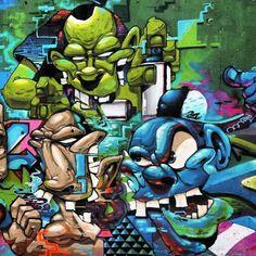 #graffiti #wall #by:::mone