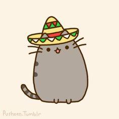 Pusheen sombrero