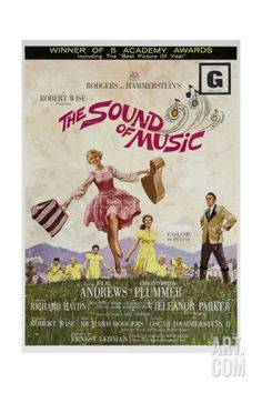 """'Rodgers And Hammerstein's """"The Sound of Music"""" 1965, Directed by Robert Wise'."""