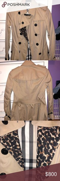 Burberry Trench Coat burberry trench coat with belt around the waist and sleeves Burberry Jackets & Coats Trench Coats