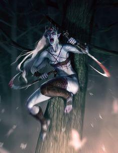 ArtStation - the banshee, Thanh Tuấn Fantasy Wesen, Fantasy Rpg, Dark Fantasy Art, Medieval Fantasy, Fantasy Artwork, Elves Fantasy, Fantasy Inspiration, Character Inspiration, Character Art