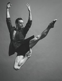 "Sergei Polunin for Numéro Homme/ ""A dancer like Polunin comes along once every two or three decades; at 13 his potential was so evident that his teacher would pull up a chair and study him during class .... to see him demonstrate a movement is to see a blueprint of perfection..."