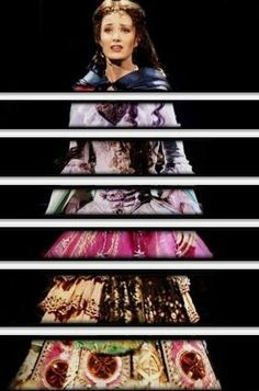 the many dresses of Christine Daae