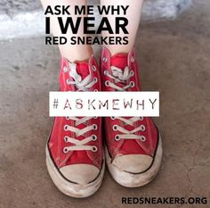 Day 13 of Food Allergy Awareness Month. And Day 1 of Food Allergy Awareness Week. Ask me why I wear red sneakers. It's to get you talking and to raise awareness about the dangers of food allergies, that food allergies can kill, that food allergies are not a joke. Ask me about who Oakley Debbs is. This and more graphics can be found on our website at https://www.redsneakers.org/awareness. Please share and care. Happy Mother's Day.